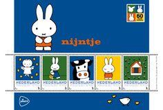Postzegels nijntje 60