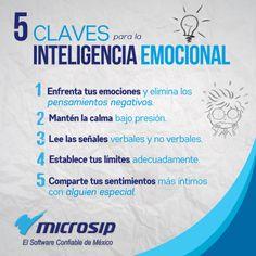 #TipsMicrosip 5 claves para la inteligencia emocional.