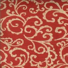 Norbar Fabrics Emilio Red - My Fabric Connection $36