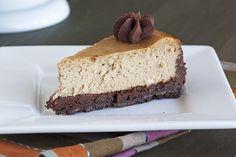 Cappuccino-Fudge Cheesecake