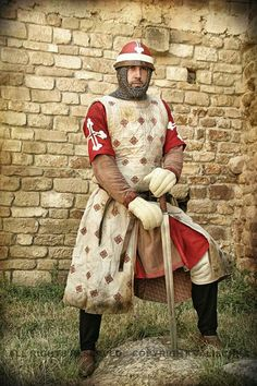 Aragonese knight. XIII th century.