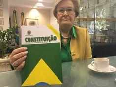 Senadora Ana Amélia tem fazenda não declarada na RF. Propriedade foi invadida pelo MST.