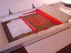 Full tutorials on Silkscreen printing!!