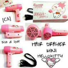 Saya menjual hairdryer hellokitty   Hair Drayer Mini Hellokitty   Pengering  Rambut seharga Rp80.000 8b90b24adf