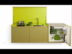 Disappearing Kitchen — Shoebox Dwelling   Finding comfort, style and dignity in small spaces