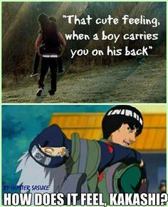 Kakashi and Guy!