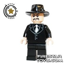 LEGO Indiana Jones Mini Figure - Shanghai Gangster Moustache | Indiana Jones LEGO Minifigures | LEGO Minifigures | FireStar Toys