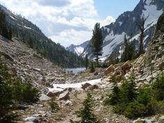 Iron creek trail, Idaho