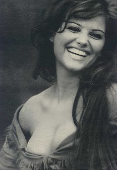 "Claudia Cardinale, retro classic beauty. Oh, ""Once Upon a Time in the West."" one of my favorite movies of all time"