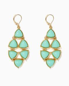 Shapely Chandelier Earrings   UPC: 410007370950