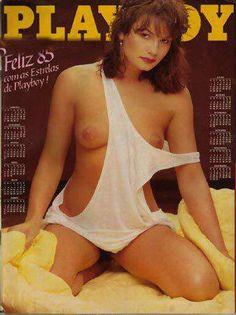 Playboy - Capa: Luiza Brunet, A Morena Mais Desejada do Brasil! - Edição Especial de Ano Novo - Dezembro 1984 | Garota da Playboy