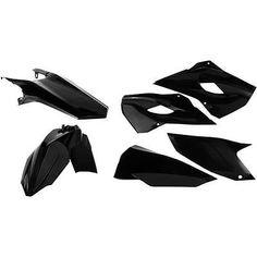 Acerbis Plastics Kit Black Husqvarna TE 300 2015