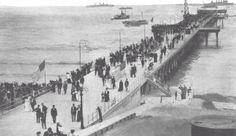 The Santa Monica Muncipal Fishing Pier on opening day. September 9, 1909. pic.twitter.com/oU76KSWeyQ