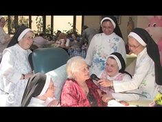 """Nuns usher the dying into heaven. Nuns on Rosary Hill in New York use the Year of Consecrated Life to reflect on their mission to care for the dying. In this interview the Nuns on Rosary Hill said """"It doesn't matter what religion they are, we are here to serve them...no matter what religion they are."""" They help the terminally ill at no costs to the insurance, the family or the individual. (watch the 4:43 minute video)"""