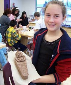 JohnPost.US - Clay Mummy Time Capsules