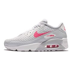 super popular 54462 74bd9 Nike Kids Air Max 90 Ultra 20 BR GS PURE PLATINUMRACER PINKWHITE Youth Size  7   Continue to the product at the image link. (This is an affiliate link)    ...