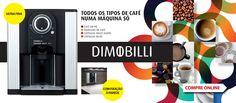 Nova máquina de café Dimobilli D3    http://www.radiopopular.pt/catalogo/detalhesproduto.php?idprod=34670