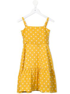 8475bac9453e Little Bambah Polka Dot Dress. Girls Designer ClothesYellow LaceBeauty And  The BeastKids OutfitsDressesDot ...