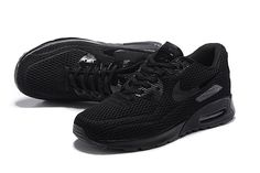 Nike Air Max 90 Ultra Men's Running Shoes Black