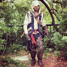 Assassin's Creed III - Connor Kenway Connor Kenway Cosplay by Frank Powers Photography by Katie Sparks Cosplay