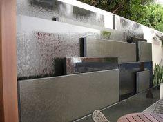 Pool water feature wall | AWA Inspiration 31-13 | Pinterest | Pool ...