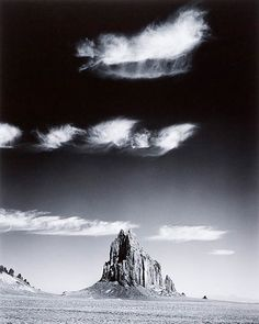 Shiprock, New Mexico by Jody Forster.  From the Tim and Deborah Bateman Collection