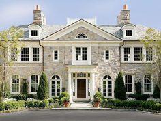 Exterior combinación de estilos en ventanas...