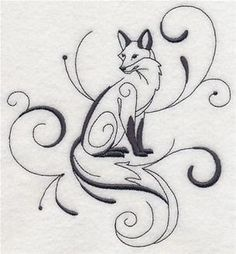 Machine Embroidery Designs at Embroidery Library! - Foxes