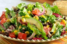 Diabetic Recipe for Southwest Style Salad  (Vegetarian )