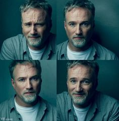 Photograph by Annie Leibovitz  TATTOO ARTIST David Fincher, photographed at his office in Hollywood.