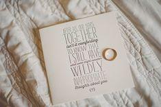 letterpress wedding cards - photo by Sharyn Frenkel Photography http://ruffledblog.com/detail-filled-wedding-at-philadelphia-horticultural-center
