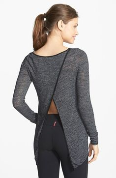 Free shipping and returns on Hard Tail Flyaway Top at Nordstrom.com. Reward an intense workout with a lightweight knit layering top updated by a wrap-style flyaway back with a bit of breezy reveal.