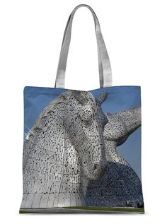 the Kelpies 1121, the Helix , Falkirk , Scotland Sublimation Tote Bag – Photogold Scottish gifts Scottish Gifts, Fashion Face Mask, Scotland, Photo Gifts, Reusable Tote Bags, Throw Pillows, Luxury, Shopping, Toss Pillows
