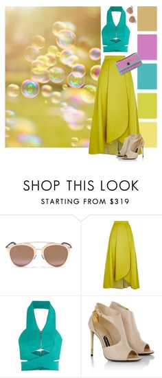 """""""669."""" by natlik ❤ liked on Polyvore featuring Seed Design, Christian Dior, Pinko, Dion Lee, Tom Ford, Chanel, skirt, summerbrights, summer2016 and colorsinspiration"""