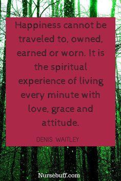 happiness nurse quote