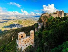 View over Medieval Castle of Venus in Erice    |   10 Top Rated Tourist Attractions In Sicily