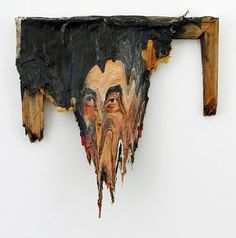 We say decaying fine art, but the work of Valerie Hegarty is just so much more. Ravaged paitings, melting canvas, cracked walls, weathered works are all the characteristics of Hegarty's work