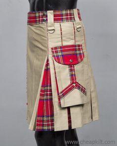 Spartan Men Hybrid Kilt - Hybrid Kilt For Men - Cheap Kilt Scottish Man, Scottish Kilts, Men In Kilts, Kilt Men, Spartan Men, Tactical Kilt, Cheap Kilts, Kilt Shop, Kilt Hire