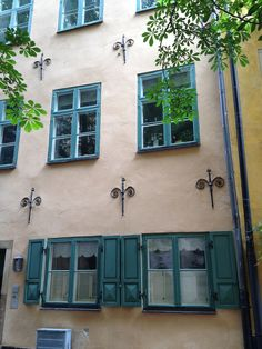 Gamla stan, Stockholm Stockholm Old Town, Stockholm Sweden, Visit Denmark, Plastering, Scandinavian Countries, Gothenburg, Beautiful Places To Travel, Windows And Doors, Finland