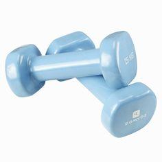 29,99zł - Sprzet fitness - Hantle PVC 2x1,5 kg - DOMYOS