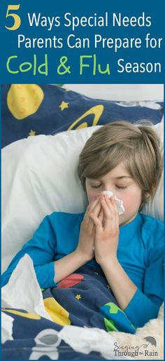 While it would be easy to live in fear of the unknown of what virus could be next, instead I do the best I can to help teach my family and others who come into my home how to enter with the least amount of germs possible. While I cannot prepare for everything, here are some ways I do prepare for the cold and flu season as a special needs parent! #ad