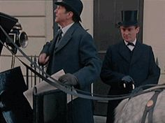 Sherlock Holmes and Doctor John Watson Granada version played by Jeremy Brett and Edward Hardwicke