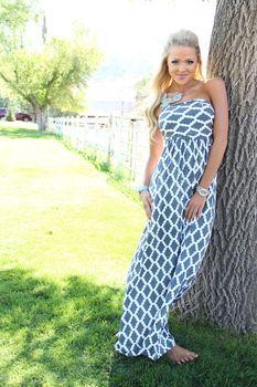 (Pre-Sale) So Beautiful To Me Maxi Dress Gray - Modern Vintage Boutique