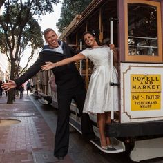 Get onboard with San Francisco's retro vibe for your elopement.  Sneak peak from an upcoming guide to getting the best from your SF elopement.  If you wanna know how to get married in California then check out the link in bio.  @rachellevinephoto . . #trolleybus #trolley #rachellevinephotography #sanfrancisco #california #californiaelopement #californiawedding #eloping #eloped #epicelopement #elope #sanfranciscoelopement #elopetosanfran #elopementblogger