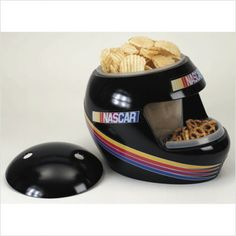 This @NASCAR snack helmet is the perfect addition to your Bristol tailgate!