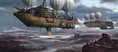 ArtStation - The Flying Ships, Daniel Voss