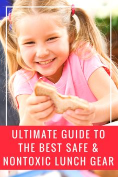 The ultimate guide to the safest nontoxic reusable lunch containers, bags, water bottles and more! Easy School Lunches, Best Safes, Back To School Crafts, Whats For Lunch, Lunch Containers, Healthy Kids, Healthy Living, Travel With Kids, Bento