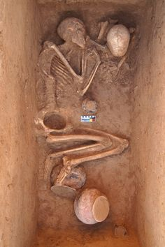 """One lives in the hope of becoming a memory.""--Antonio Porchia.     Image from an article ""Burials and Reburials in Ancient Pakistan"" : http://www.archaeology.org/images/MA2013/Trenches/pakistan-swat-valley-skeleton.jpg"