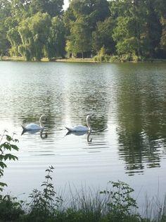 Bois de Vincennes (Paris). Perfect place to jog and get some fresh air.