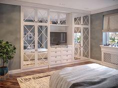 Классический шкаф для спальни